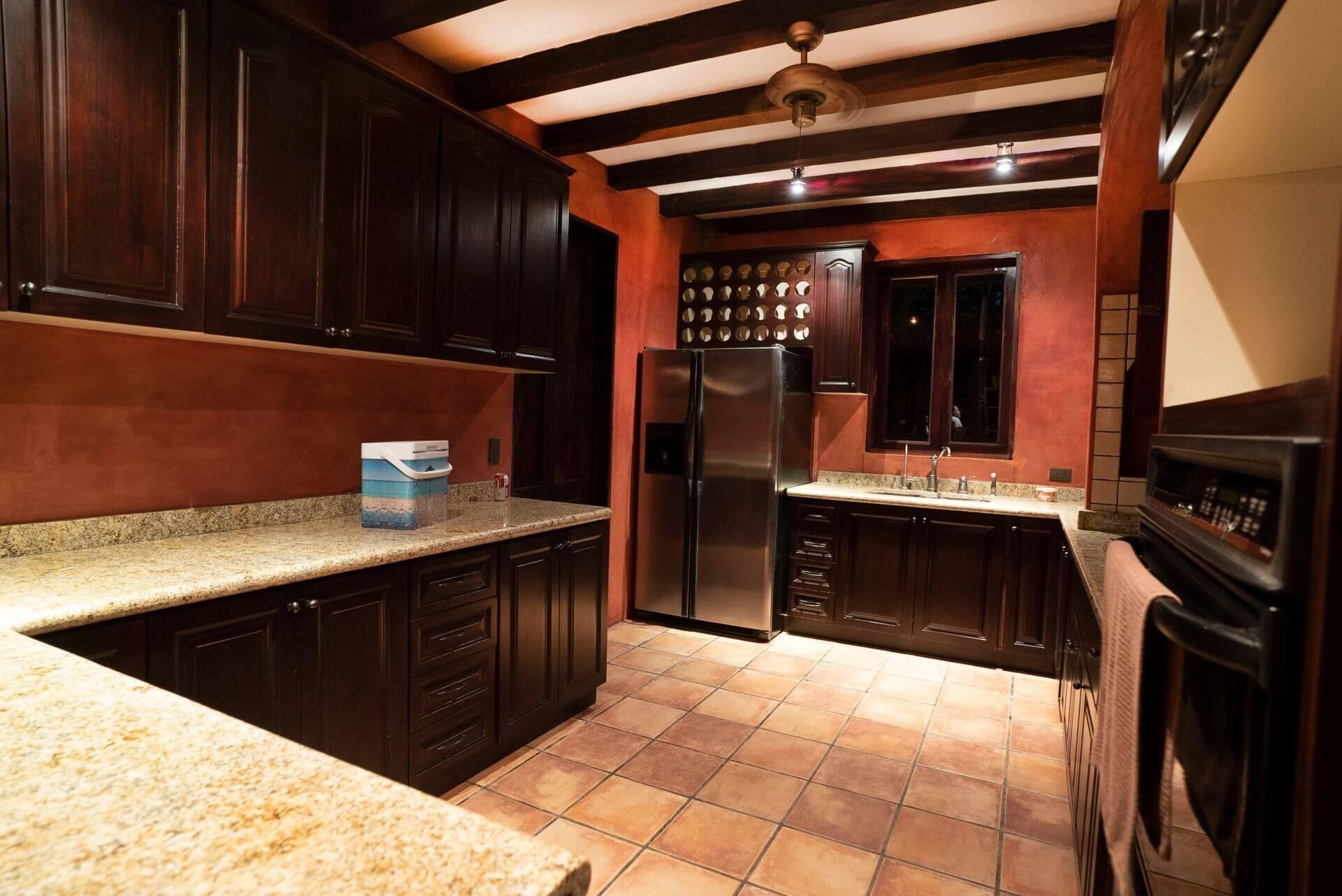 Hacienda Barrigona Villa Guanacaste Kitchen