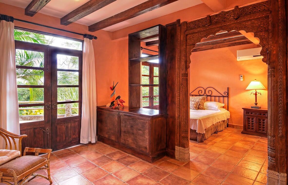 Casa Barrigona Bedroom Costa Rica Jungle