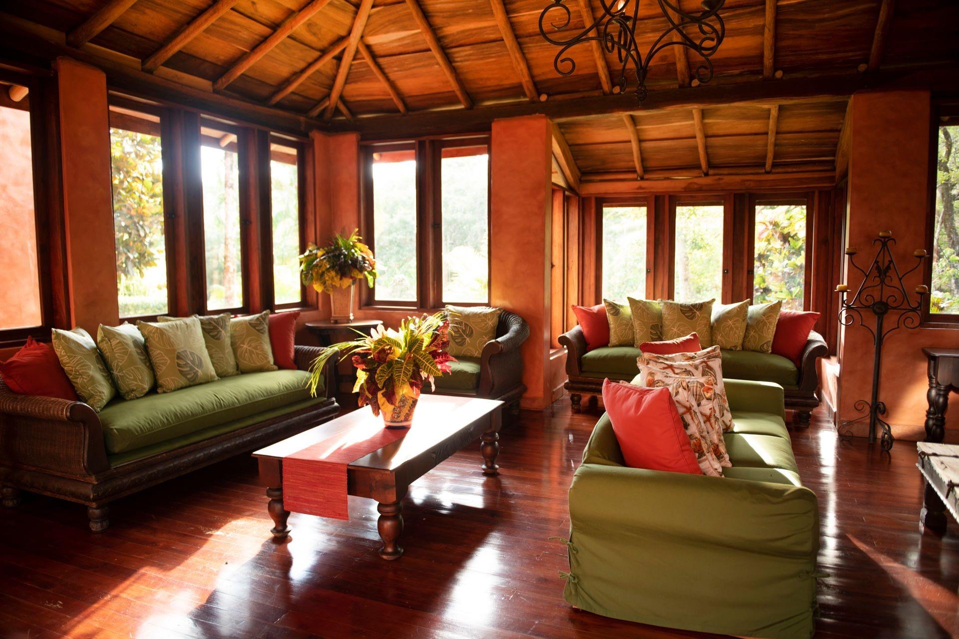 Casa Barrigona Living Area Nicoya